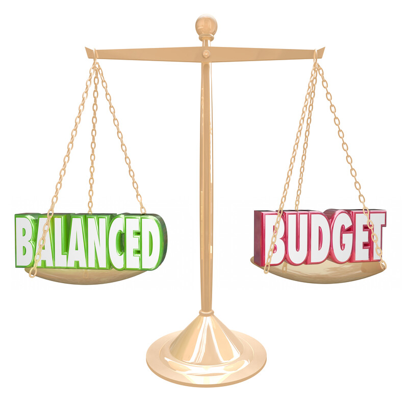 balanced wedding budget